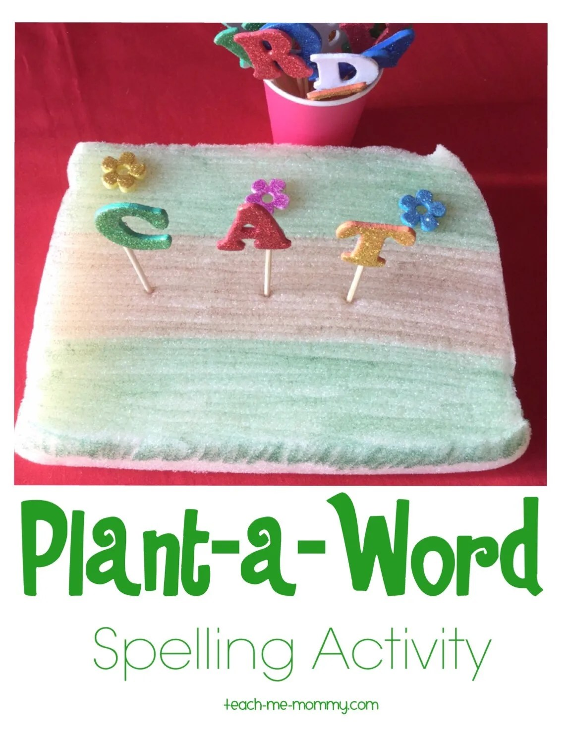 Plant A Word Spelling Activity
