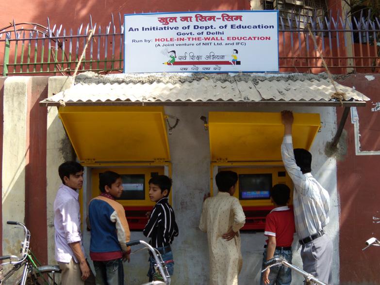 Mitra Myths – Slum children with No English?