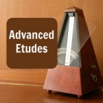 Advanced etudes used by Norman Herzberg