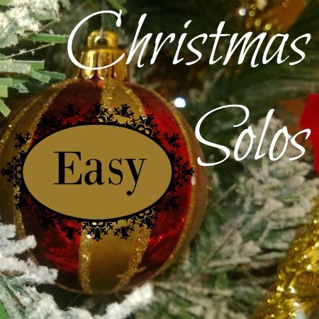 Easy Christmas Solos