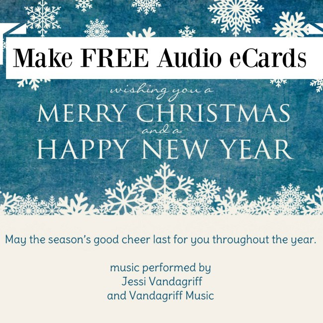 Make Free Audio eCards