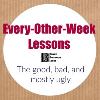 every-other-week music lessons - advice for teachers