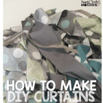 DIY {Curtains} A Quick Tutorial!