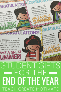 Make the end of the year fun with these personalized student postcards!