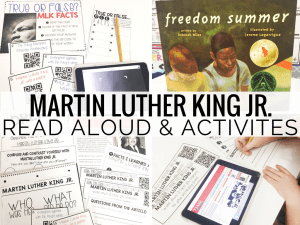 Freedom Summer: Read Aloud for MLK Jr. Day