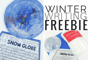 Winter Writing: Trapped in a Snow Globe