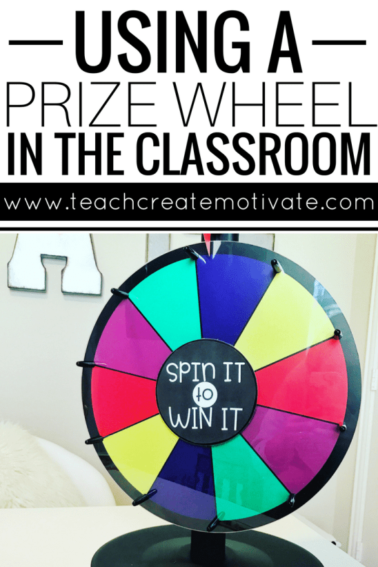 Engage your students by using a prize wheel in your classroom! Here are 10 + easy ways to use one!
