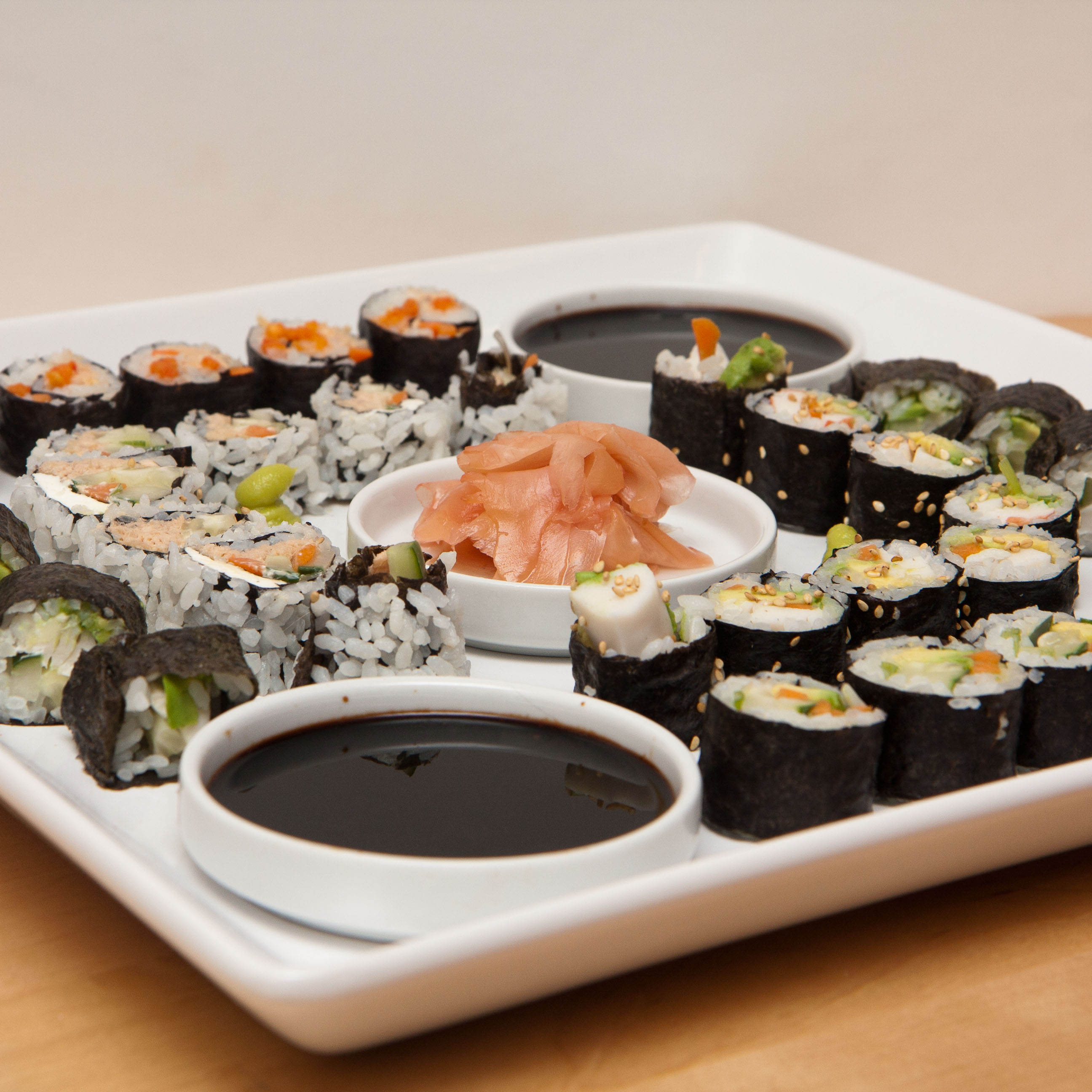 People interested in sushi