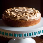 pumpkin almond easy cake