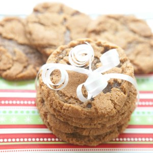 ginger molasses snickerdoodle cookies