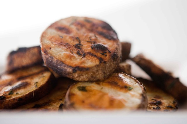 Herbed Roasted Grilled Potatoes