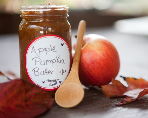 Pumpkin Apple Butter for fall