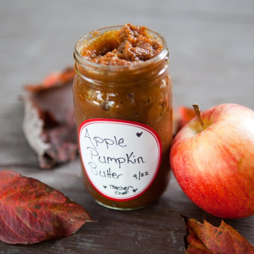 giftable jar Crock Pot Pumpkin Apple Butter