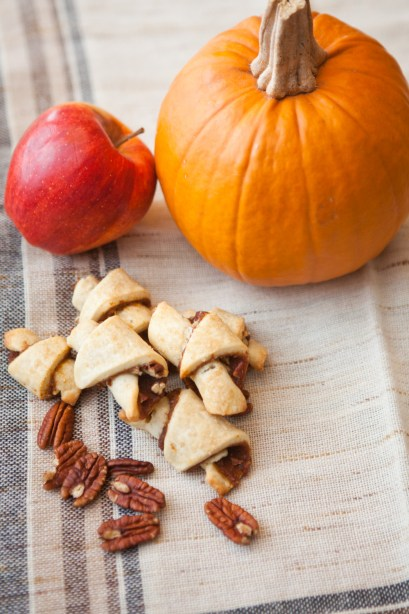 Pumpkin Apple Butter Pecan Rugelach