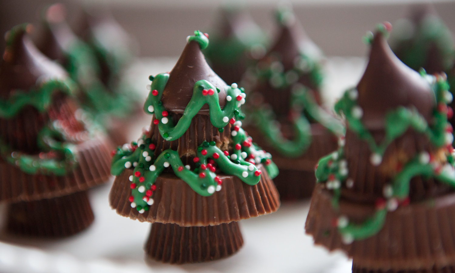 Peanut Butter Christmas Trees |