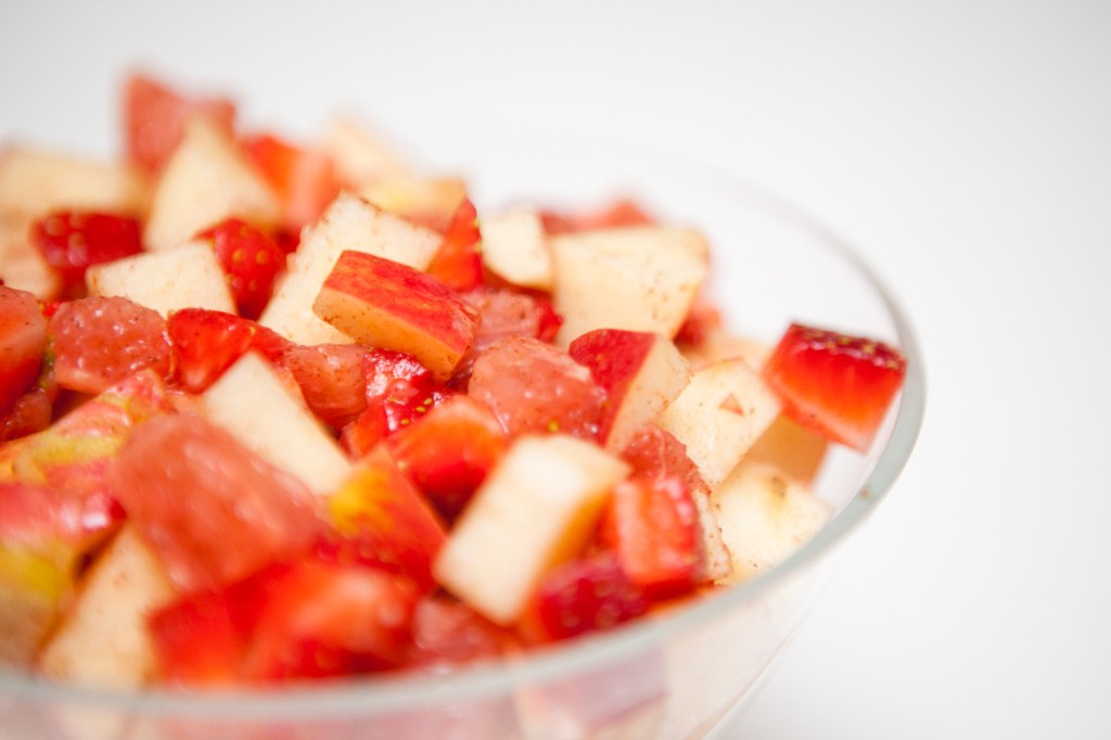 Strawberry Apple Grapefruit Salad