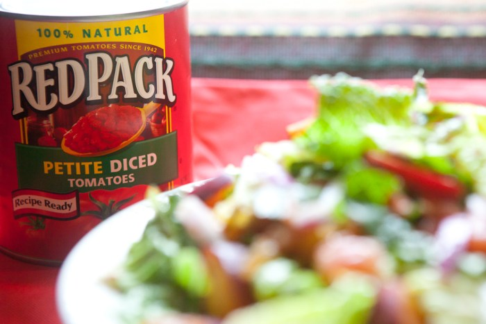 RedPack Tomato Peach Chipotle Salad - teacher-chef-5211