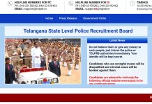 TSRTC 280 Constable Posts fill through TSLRB GO 11