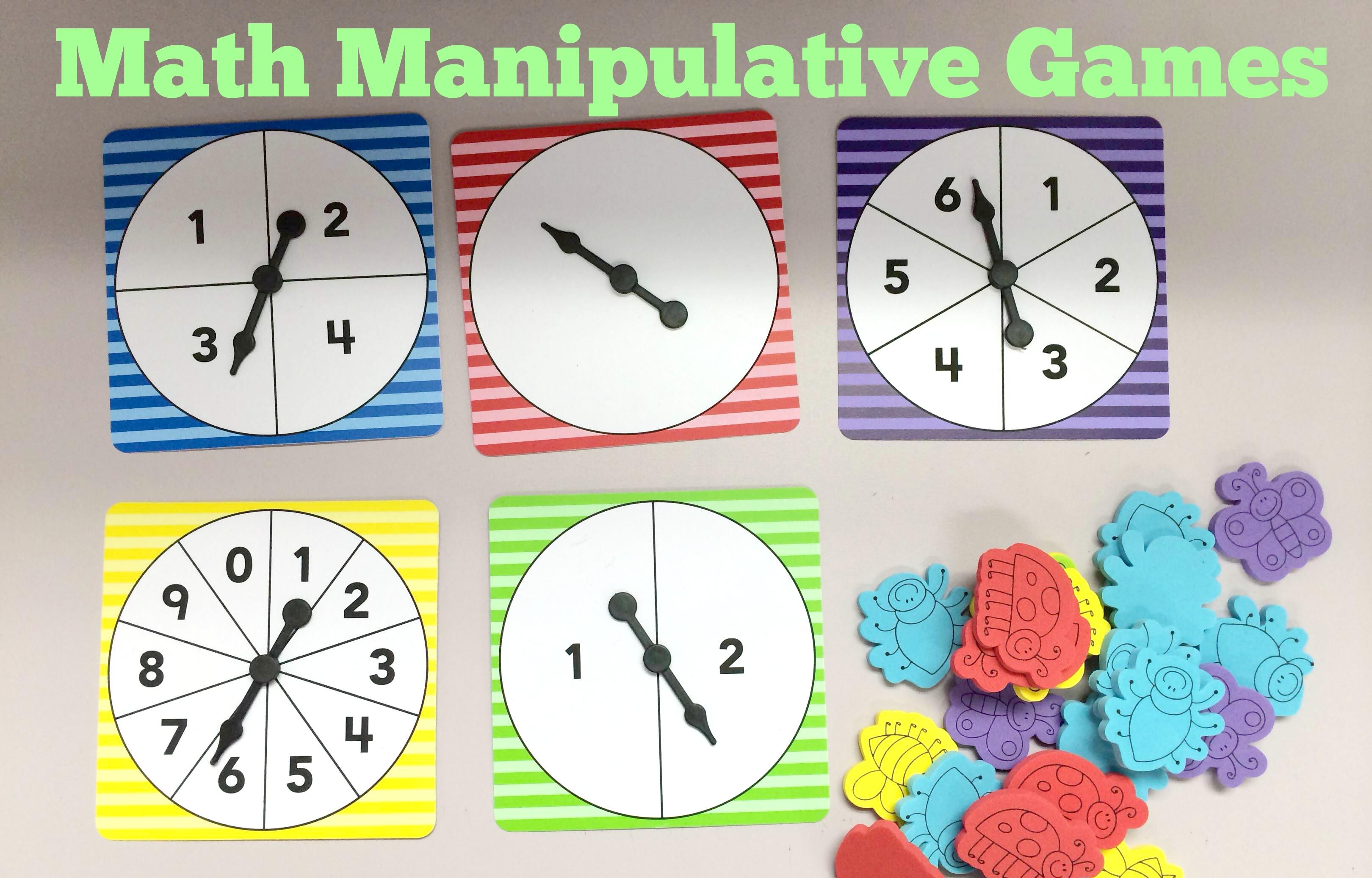 Math Manipulative Games Teacher Created Tips
