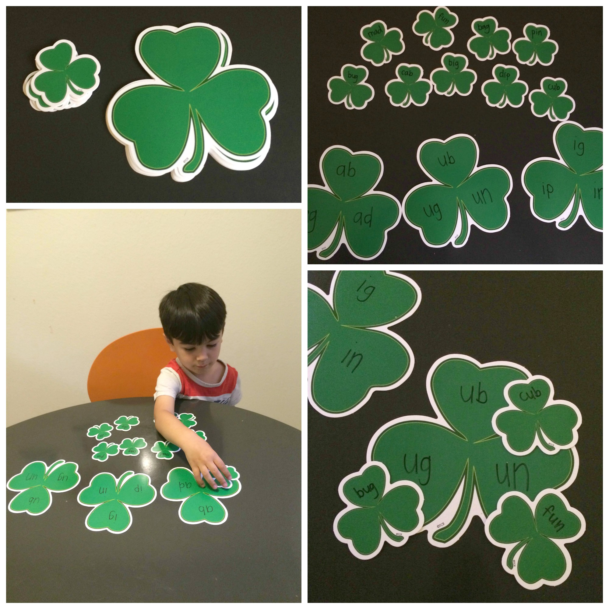 Word Families Activity For St Patrick S Day Teacher Created Tips