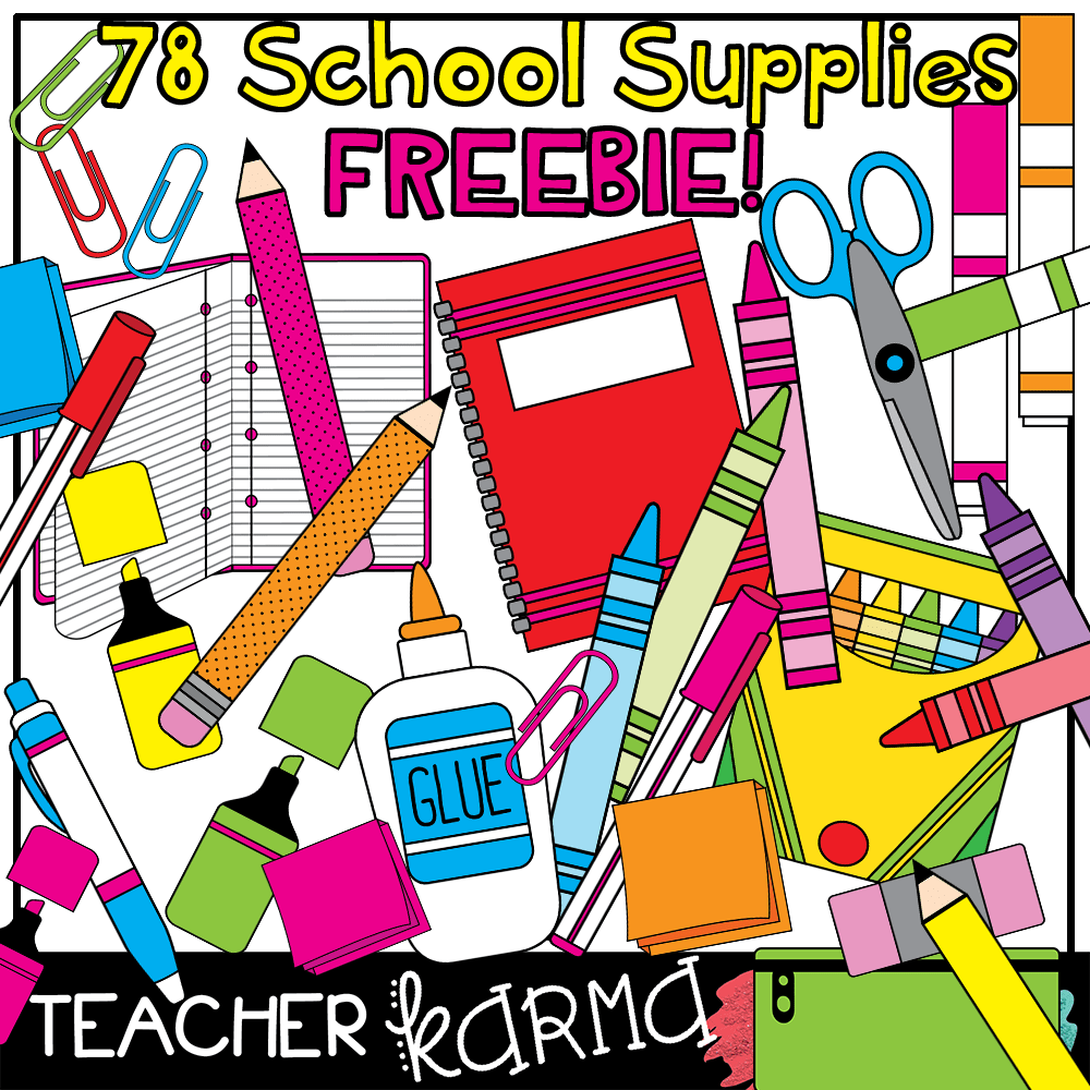 Free Clipart For Teachers 78 Pieces Teacher Karma