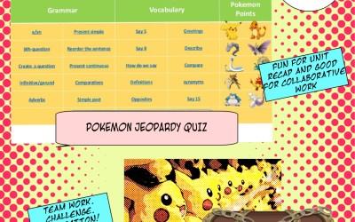 Pokemon go classroom ideas