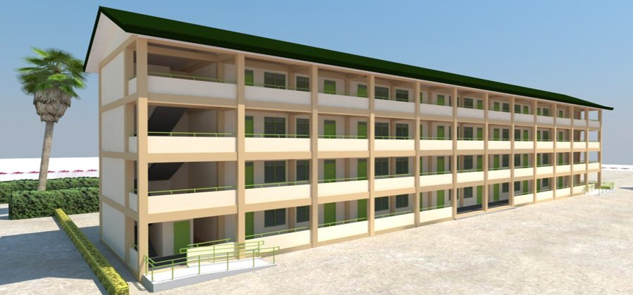 DepEd New School Building Design - FOUR (4) STOREY BUILDING