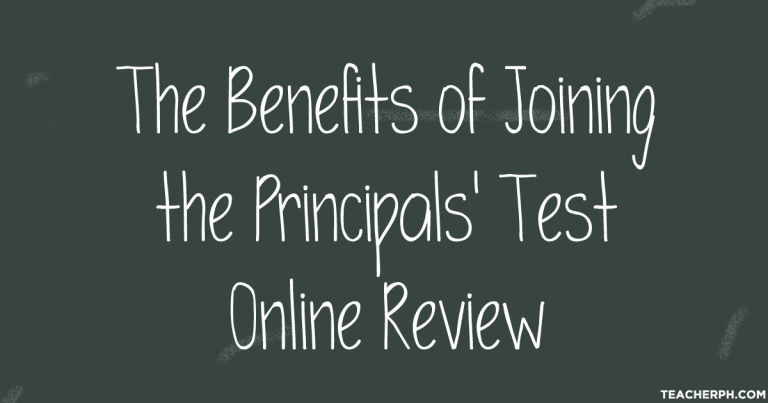 Principals' Test Online Review