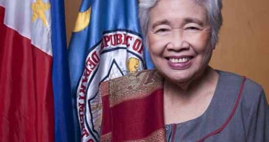 Secretary Leonor Magtolis-Briones Official Portrait TeacherPH