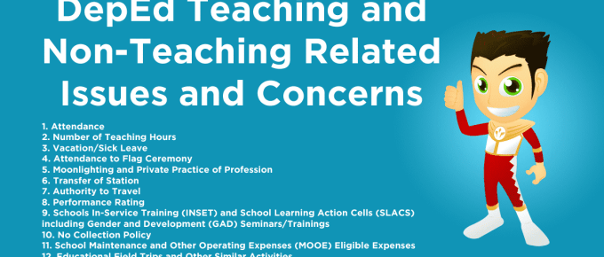 DepEd Teaching and Non-Teaching Related Issues and Concerns