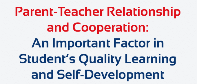 Parent Teacher Relationship and Cooperation