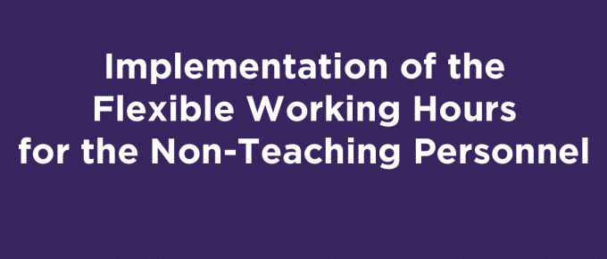 Flexible Working Hours DepEd Non-Teaching Personnel