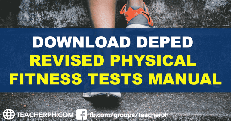 DOWNLOAD DEPED REVISED PHYSICAL FITNESS TESTS MANUAL