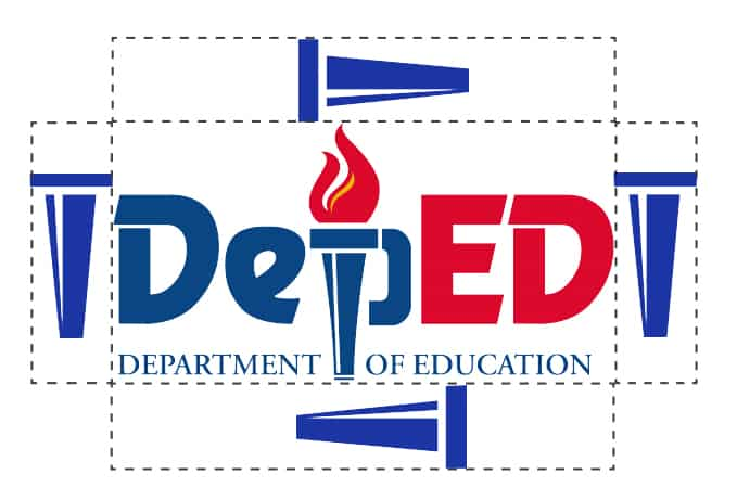 DepEd Logo Size Specifications and Spacing Requirement