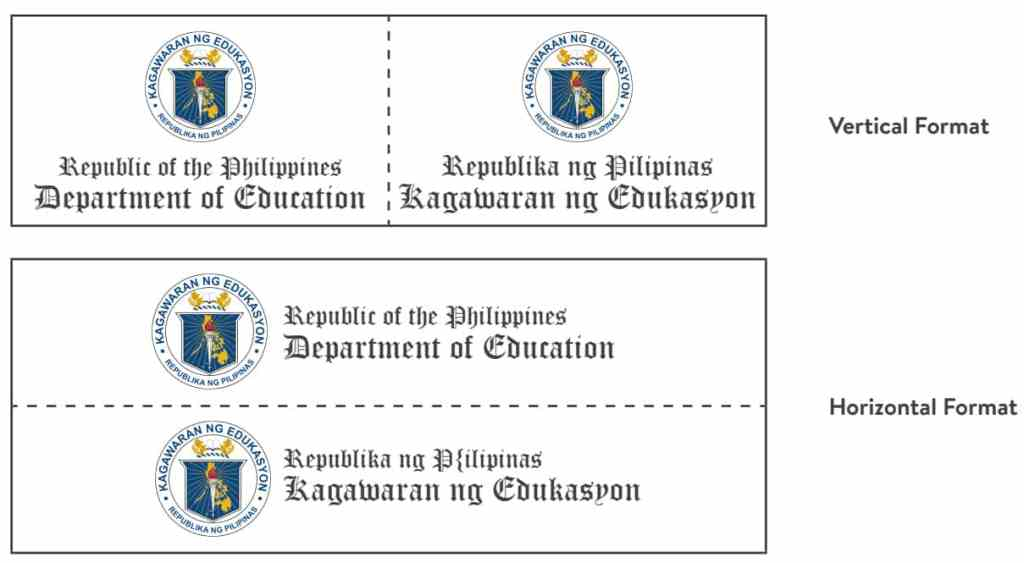 DepEd Seal Size Specifications and Formats