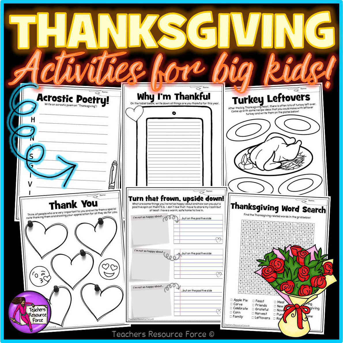 Thanksgiving Activities For Teens