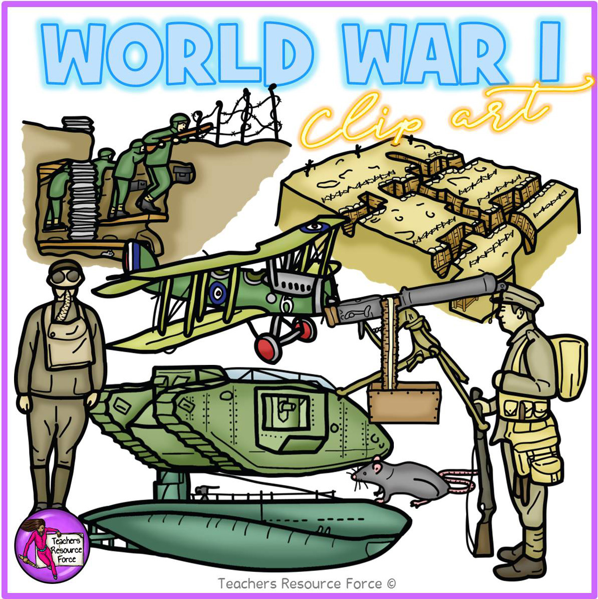 World War 1 Clip Art