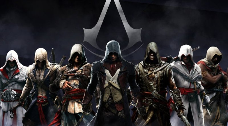 Image of Assassins creed characters
