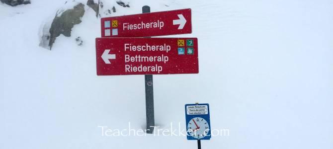 Switzerland – Snowboarding Fiesch Eggishorn