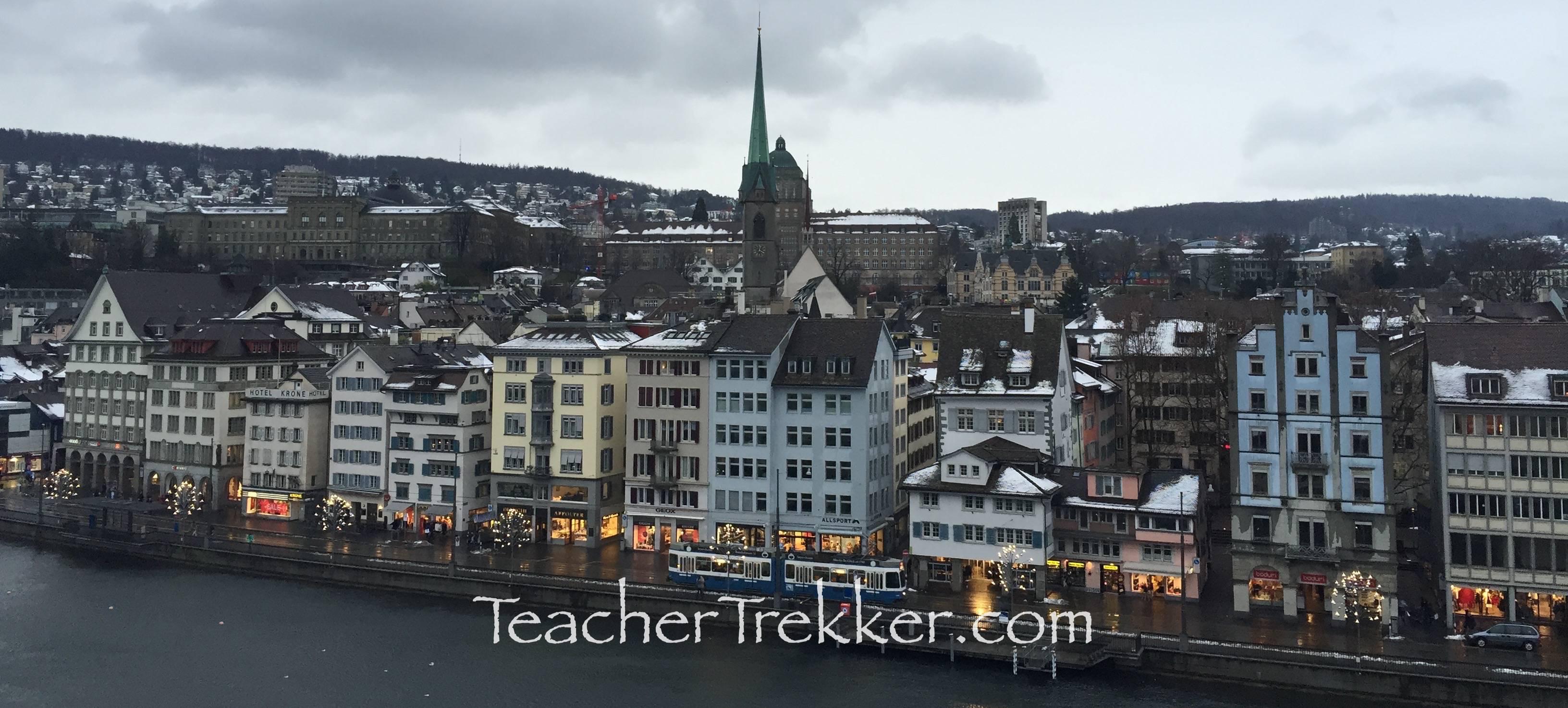 Zurich Switzerland Self Guided Walking Tour Part 1 Overview