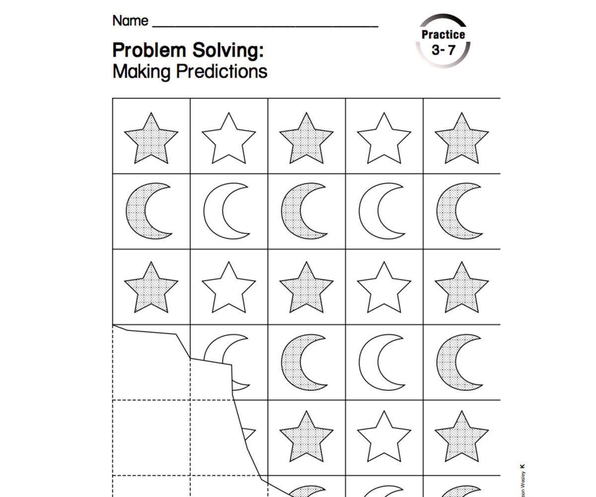 Stars And Moon Patterns Printable Pre K