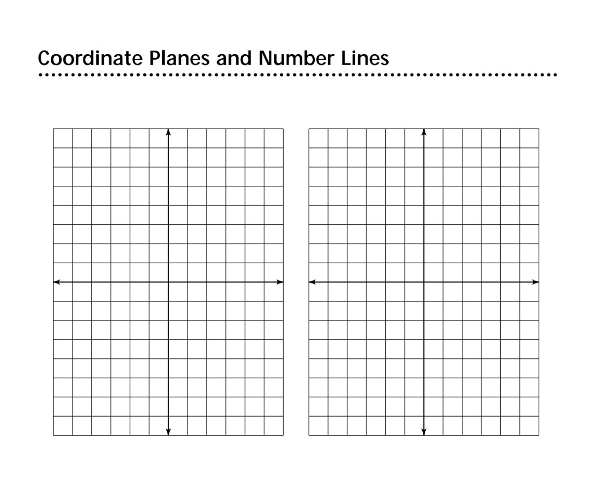 Coordinate Plane Connect Dots Worksheet