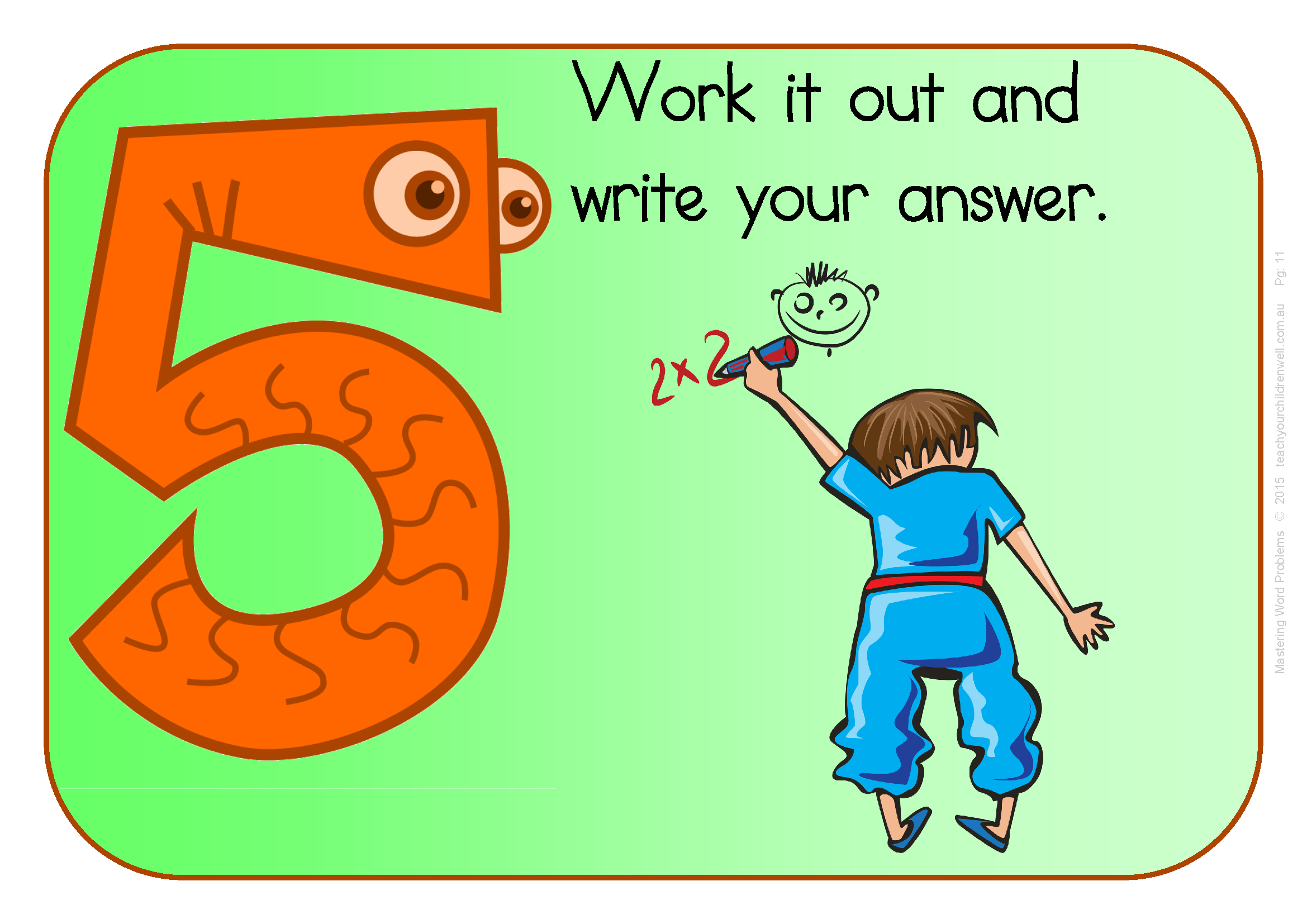 Mastering Word Problems 4