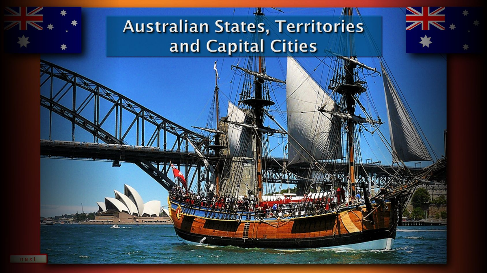 The Australian States Territories And Capital Cities Map Quiz For Grades 3 To 8