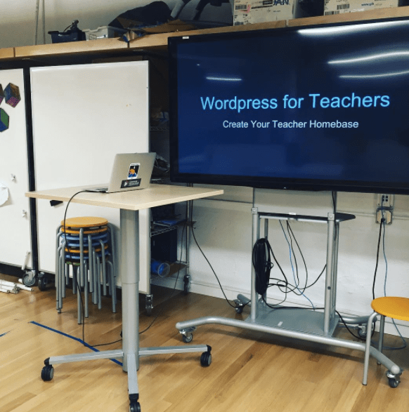 Wordpress for Teachers:  A workshop for teachers who want to use Wordpress for their blog