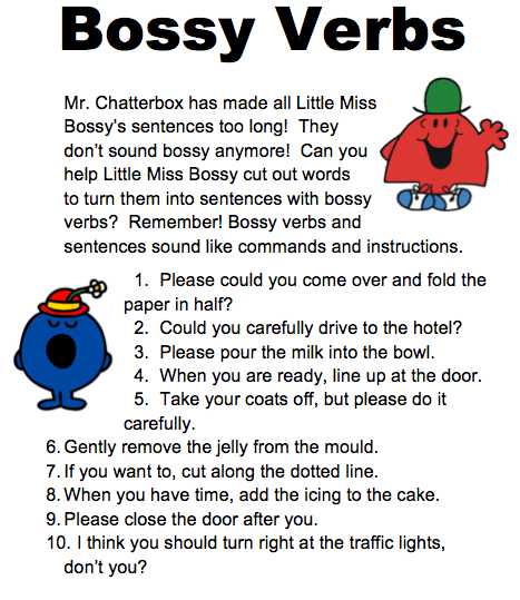 Teaching Instructions To Ks1