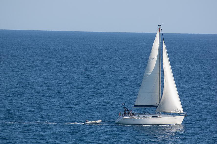 Boat in Blanes
