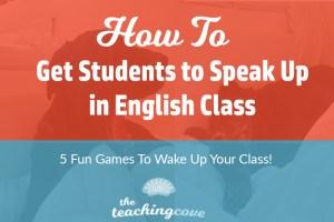Speak Up in English Class