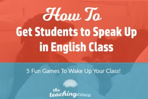 Speak Up in English Class