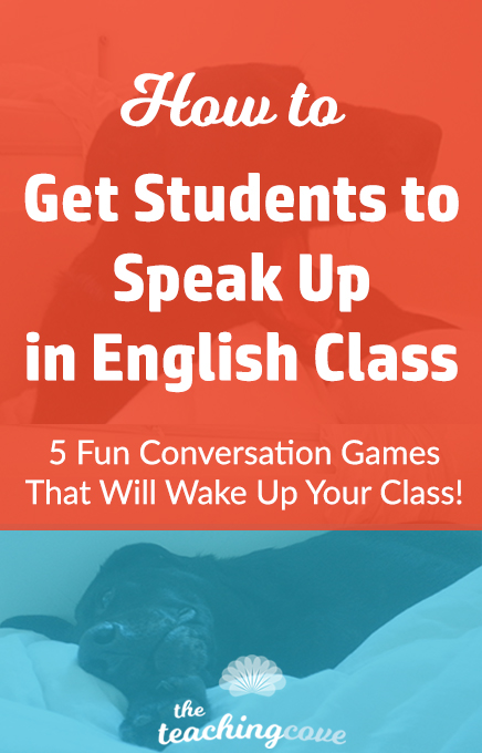 How To Get Your Students to Speak Up